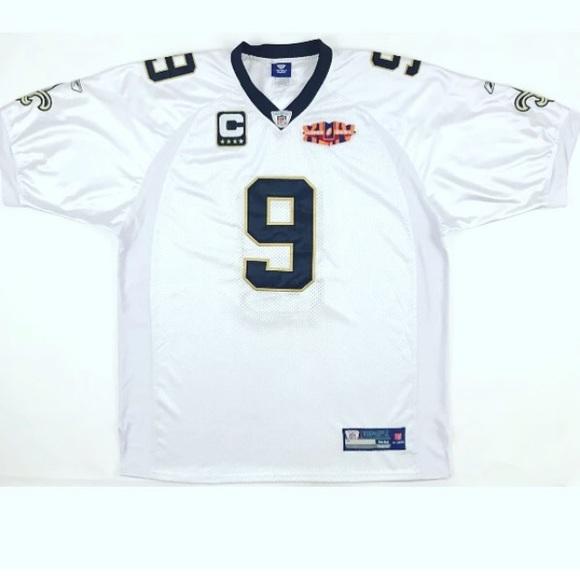 pretty nice 7c651 1a915 New Orlean Saints Drew Brees Superbowl XLIV Jersey